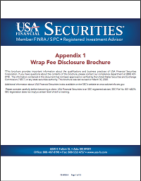 USA Financial Securities Wrap Fee Disclosure Brochure